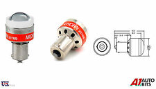 12V LED localizador atrás Alarma De Reversa Bombilla de alerta de advertencia coche Sensor BA15S