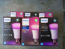 *NEW* Philips Hue White and Color Ambiance A19, 60W Equivalent, Each (464487)