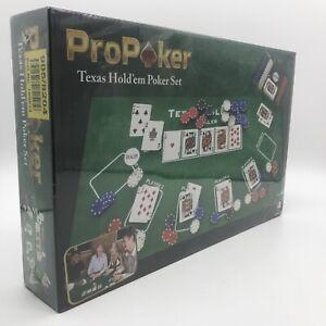 ProPoker Texas Hold'em Poker Set NEW UNOPENED