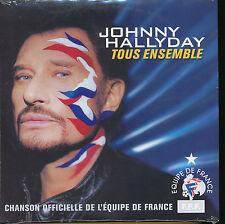 JOHNNY HALLYDAY CD SINGLE EU TOUS ENSEMBLE (2)