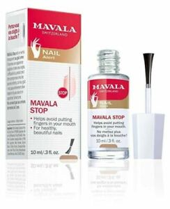 MAVALA STOP Nail Polish Clear for Biting Nails & Thumb Sucking 10ml/.3 fl oz