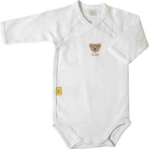 STEIFF® Body/Wickelbody Langarm Weiß Gr. 56-68 0008503-1000 NEU!