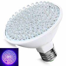 Ultra Bright E27 UV Ultraviolet Color Purple Light 100LED Lamp Bulb 110V 66