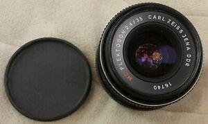 Vintage Carl Zeiss Jena MC Flektogon 2.4/35 lens M42  S/N 16740