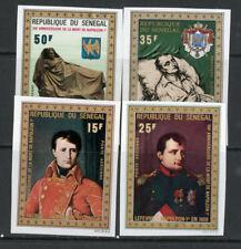 Senegal Stamps # C99-102 XF OG NH