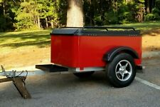 Motorcycle or Auto Cargo Trailer - by Hybrid Trailer Company