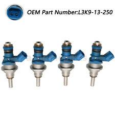 4XOEM Fuel Injectors Fits Mazda Speed 3 6 CX-7 2.3L Turbo L3K9-13-250A E7T20271