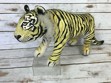 Vtg 1990 Applause Determined Productions Bengal Tiger Stuffed Animal Plush Cloth