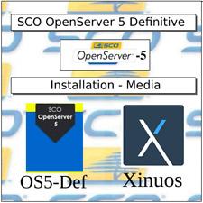 SCO Unix OpenServer 5 Definitive O.S. - Installation Media on CDROM USD