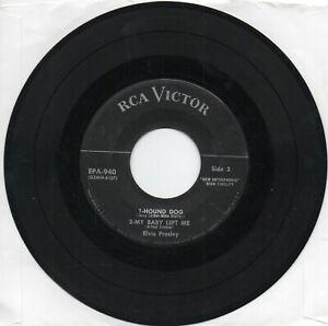 Elvis Presley  No Dog on Label    EPA 940  The Real Elvis      EP Only
