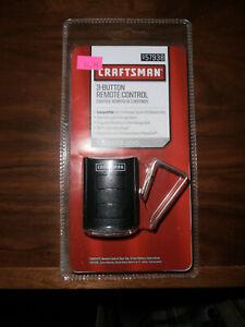 Craftsman Garage Door Opener 3 Button Remote Control Series 100 NIB