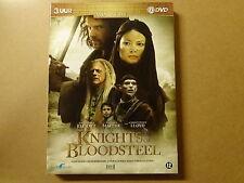 2-DISC DVD BOX / KNIGHTS OF BLOODSTEEL ( DAVID JAMES ELLIOT, NATASSIA MALTHE...)