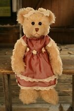 """COLLECTABLE BEAR BY SETTLER """"KEISHA"""" 38CM ESPERENCE COLLECTION NEW"""