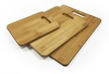 Uniwide Bamboo Chopping Boards, Set Of 3