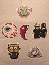 Cool Imagine Sticker +5 more assorted stickers Laptop, Car Vinyl Decal New