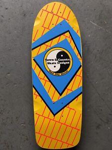 Rare NOS 1983 Town & Country ZONER Vintage Skateboard Deck