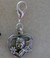 1 x Clip On Charm - Bracelet, Handbag, Zip + Free Gift Bag