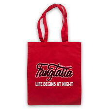 FANGTASIA ERIC UNOFFICIAL TRUE BLOOD VAMPIRE CLUB LOGO TOTE BAG LIFE SHOPPER