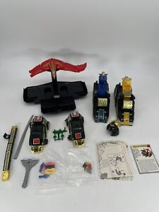 VTG MMPR Mighty Morphin Power Rangers Thunderzord Assault Team 80% (Read Desc)