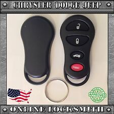 NEW REPLACEMENT KEYLESS ENTRY REMOTE SHELL CASE FOB CHRYSLER DODGE 4 BUTTONS
