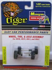 1/32 -MONOGRAM CHROME WHEEL,TIRE & AXLE ASSEMBLY - IN PACKAGE