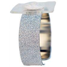 Glimmer Corsage Bracelet Cuff - Silver - Wedding Bridal Flower Prom
