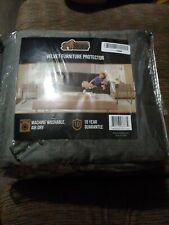 Gorilla Grip Original Slip Resistant Sofa Slipcover Protector - grey