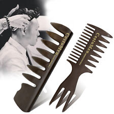 2pcs Professional Men Styling Comb Set Men Hairdressing Tool Wide Teeth Combs