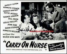 Michael Medwin Carry On Nurse Shoestring The Longest Day Autograph UACC RD96