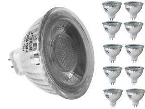 10x LED MR16 Lampe Licht Spot Strahler 5 Watt 12V Ra > 80 Warmweiß u. Kaltweiß