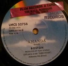 Boston - Amanda - South African Pressing - MCA Records – LMCS 52756 (1986)