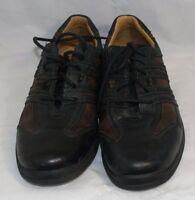 J&M Johnston & Murphy Men's XC4 System Black Brown Leather Oxford Shoes Size 10M