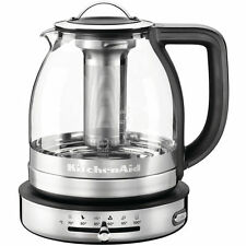 5KEK1322SS Teiera in Vetro Artisan KitchenAid 1,5 Lt Glass Teapot