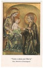 santino-holy card*S. MARCELLINO CHAMPAGNAT