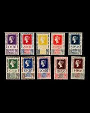 Vintage: Mexico 1940 Oglh,Lhl Sct # 754-758,C103-C107 $ 141 Lot # Mex1940Ha-C11
