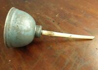 Collectable Vintage Wesco Bell Shaped Blue Oil Can