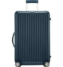 """Rimowa Salsa Deluxe 29"""" Multiwheel Hardsided Spinner Suitcase Blue Pre Owned"""