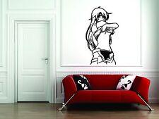 Wall Mural Sticker Decal Vinyl Decor Anime Japan Girl Sexy Neked