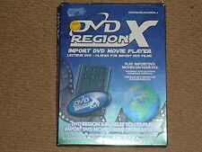 SONY PLAYSTATION 2 PS2 DVD Region X importazione riproduzioni video + Scheda di memoria 8MB in Scatola