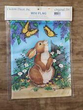 Decorative Garden Flag Custom Design Inc - Bunny Lilacs #9246FM