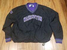 Champion Vintage Black / Purple Pullover Sweater UW Washington Men Size XL