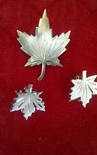 Vintage Sterling signed Bon Boyd, Brooch/Earrings