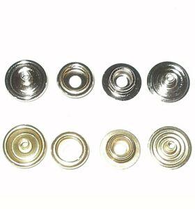 12MM PRESS STUDS HEAVY DUTY STEEL snap fasteners button poppers
