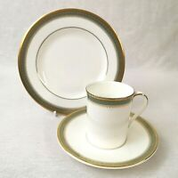 Royal Doulton Clarendon Coffee Trio Cup Saucer and Plate Excellent