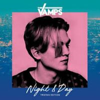 Hand Signed -THE VAMPS NIGHT & DAY - Tristan Evans EDITION CD - Brand new sealed