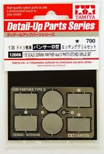Panther D Photo Soft Etch Grille - 1/35 Military Model Kit - Tamiya 12666