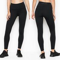 NWT Victorias Secret High Rise Studio 7/8 Legging Size 10 Black Soft Wicking
