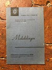 MEDEDELINGEN Nederlands concertdirectie Beek 16e jaargang N°8 15 Februari 1961