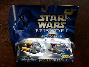 Micro Machines Star Wars Episode 1 - Pod Racer Pack I