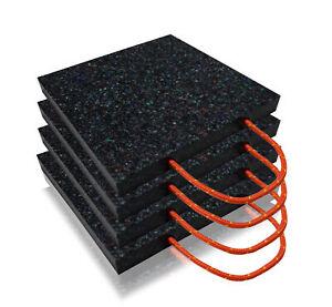 4x Abstützplatten/Unterlegplatten/Kranplatten **SET**